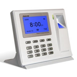 Anviz D200 Fingerprint Employee Time Clock
