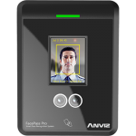 Anviz Facepass Pro Face Recognition & RFID Card Employee Time Clock