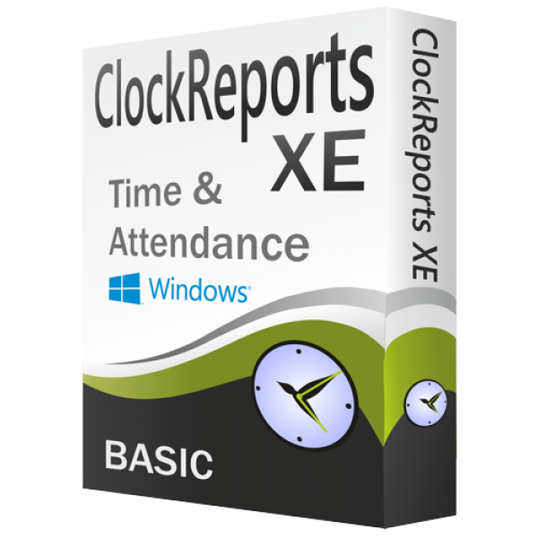 ClockReportsXE BASIC Time & Attendance Software