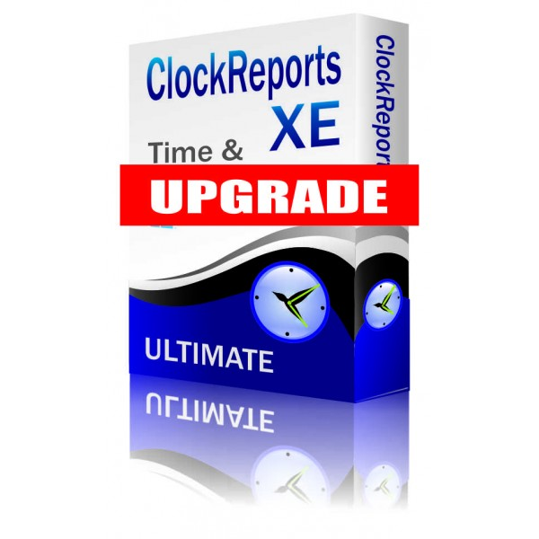 ClockReportsXE ULTIMATE Software Upgrade