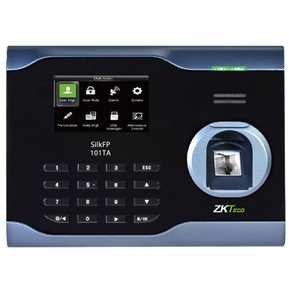 ZKTeco SilkFP RFID &  Fingerprint Employee Time and Attendance Clock